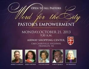Pastors Empowerment -Oct 21, 2013